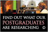 Find out what our postgraduates are researching